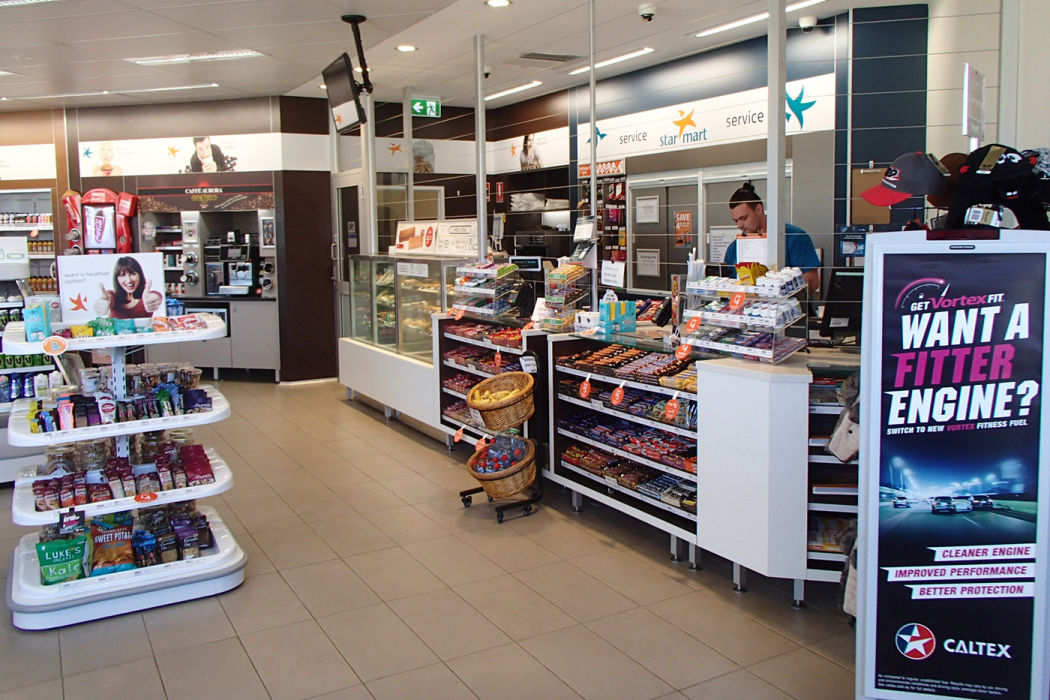 Caltex Chinderah Shop Fit Out