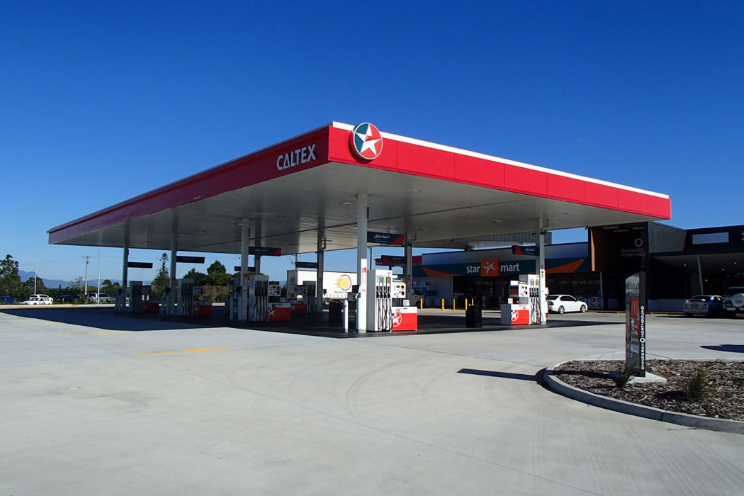 Caltex Chinderah Car Canopy